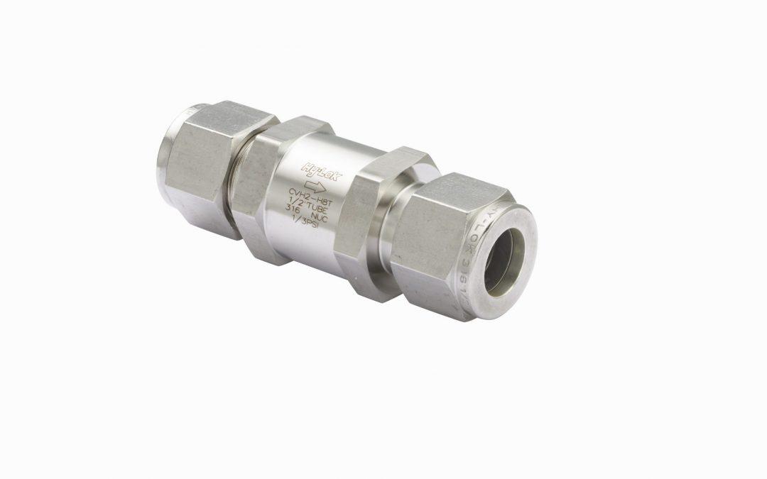 Introducing 10,000 psi High-Pressure Check Valves at Hy-Lok