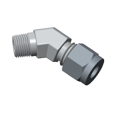 Male Connector Tube Fittings with Hy-Lok Canada